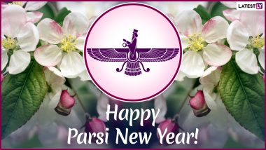 Parsi New Year Images and HD Wallpapers For Free Download Online: Wish Navroz Mubarak 2019 With WhatsApp Sticker Messages & GIF Greetings