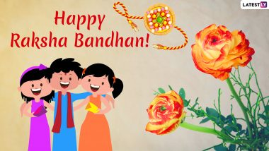Raksha Bandhan 2019 Messages in Hindi: WhatsApp Stickers, SMS, GIF Image Greetings, Quotes and Photos to Wish Your Brothers and Sisters This Rakhi Festival