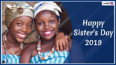 National Sisters' Day Images & HD Wallpapers for Free Download Online: Wish Happy Sister's Day 2019 With GIF Greetings & WhatsApp Sticker Messages