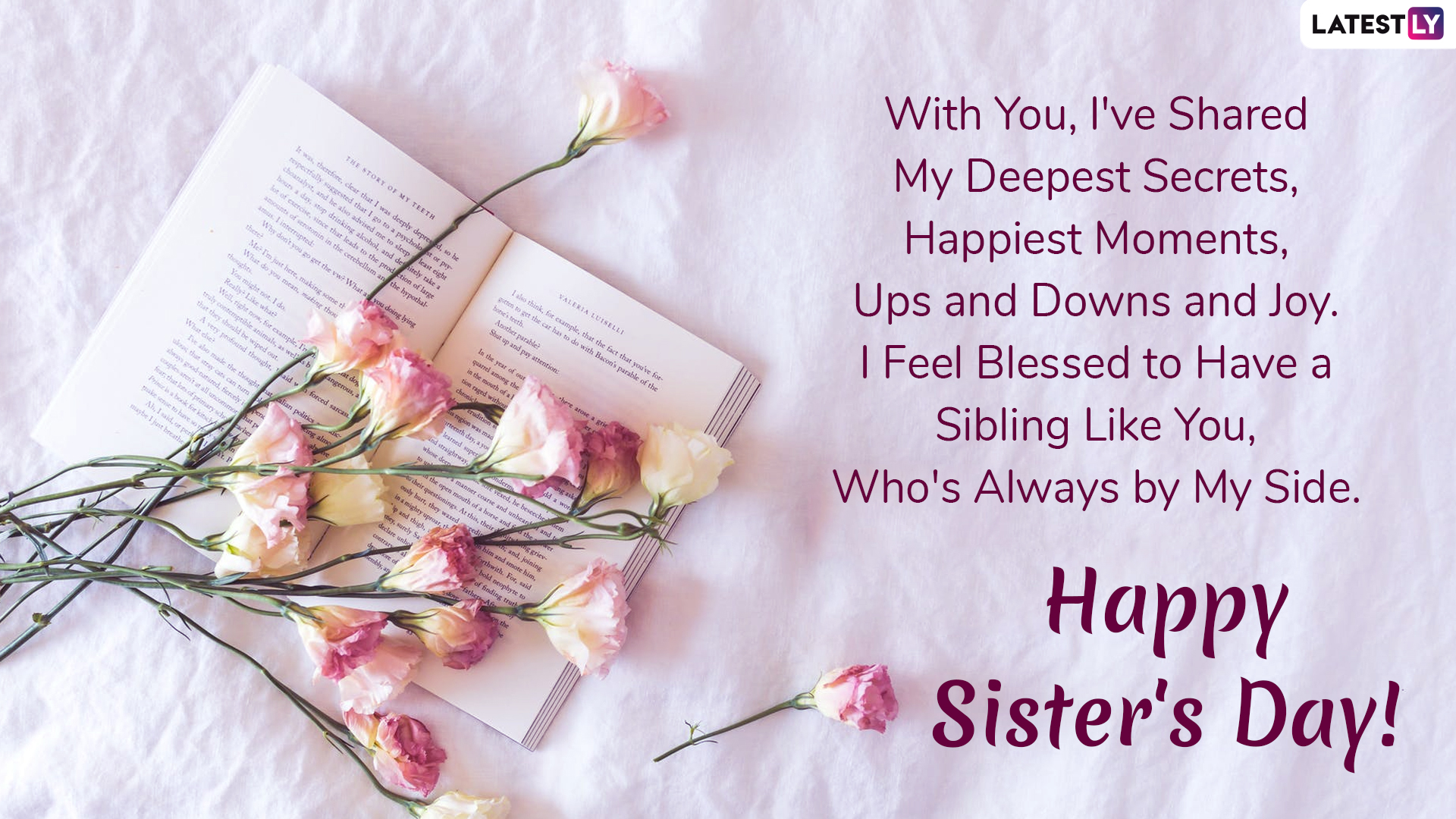 National Sister's Day: Quotes and How to Celebrate in 2019  |Sisterhood Day