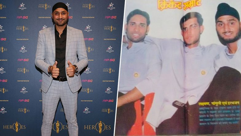 Harbhajan Singh Shares Throwback Photo of Himself with Sourav Ganguly and VVS Laxman on Instagram And It Will Make You Nostalgic
