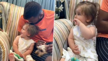 Hardik Pandya Babysits Jatin Sapru's Daughter and Their Instagram Video is the Cutest Thing on Internet
