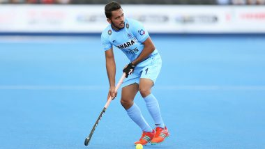 Harmanpreet Singh Excited to Lead Indian Hockey Team in Tokyo Olympics 2020 Test Event
