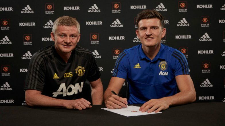 Harry Maguire Becomes World's Most Expensive Defender after Manchester United Confirms His Signing