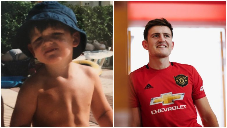 Harry Maguire's Proud Mother Shares His Childhood Photo after Manchester United Signs Him As World's Most Expensive Defender (See Tweet)