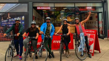 Harshvardhan Rane Bonds With Cast of 'Taish' in the UK