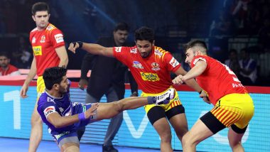 PKL 2019 Match Results: Haryana Steelers Thrash Gujarat Fortune Giants 41-24