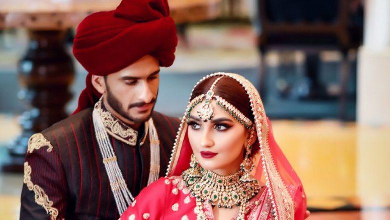 Hasan Ali and Samiya Arzoo Wedding Photos Out, Have a Look at New India-Pakistan Couple
