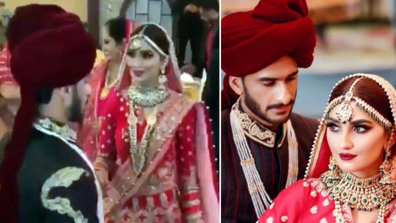 Hasan Ali and Samiya Arzoo's Wedding Dance on Bollywood Song 'Gallan Goodiyaan' Is Nothing Like Priyanka and Ranveer's, But Cute (Watch Video)