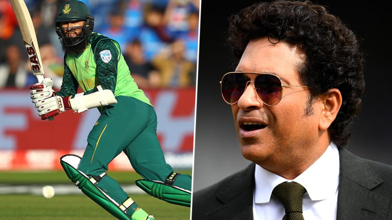 Sachin Tendulkar Wishes Hashim Amla a 'Wonderful Retired Life', Calls the South African Batsman Inspiration for Youngsters