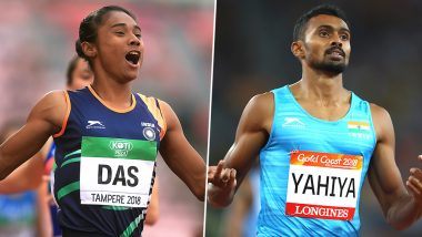 Hima Das and Mohammad Anas Win Gold Medal in 300m Race at the Athleticky Mitink Reiter Event in Czech Republic