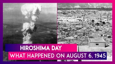 Hiroshima Day: What Happened On August 6, 1945 In Japan's Hiroshima