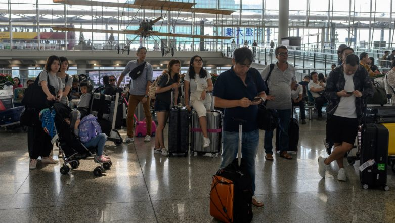 Hong Kong Protest Continues: Over Dozen Flights Cancelled After Pro-Democracy Activists Block Airport