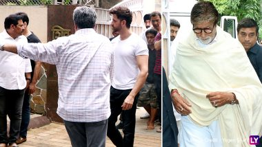RIP J Om Prakash: Hrithik Roshan, Amitabh Bachchan, Dharmendra and Others Pay Last Respect to the Late Filmmaker (Pics)