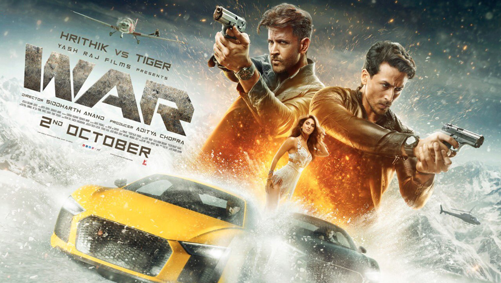 War Box Office Collection Overseas: The Film Earns Rs 50 Crore In Its Opening Weekend; Highest For Hrithik Roshan and Tiger Shroff