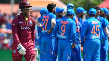 IND vs WI, 2nd T20I Stat Highlights: India Beats West Indies by 22 Runs by DLS Method in T20I 2019; Virat Kohli and Men Seal the Series