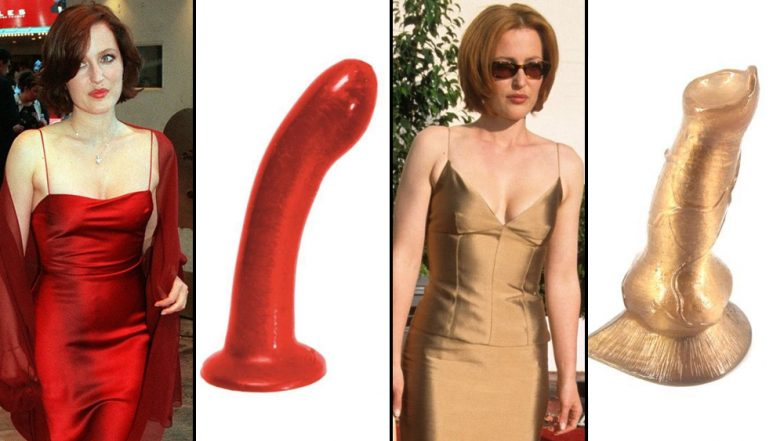 Gillian Anderson As Dildos! Somebody on Twitter Made a Thread Dedicated to Actress' Resemblance to Sex Toys and You'll Never Unsee It (View Pics)