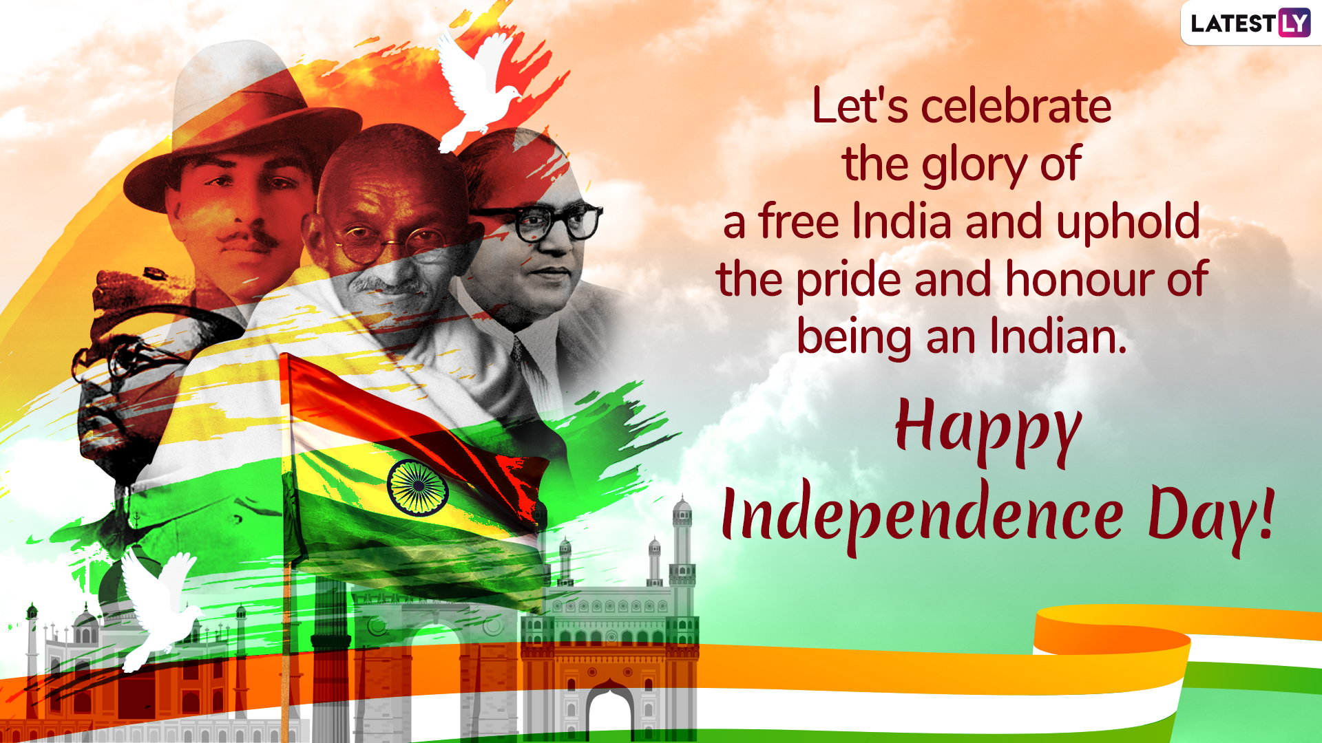 Independence Day 2019 WhatsApp Sticker 5 (Photo Credits: File Image)
