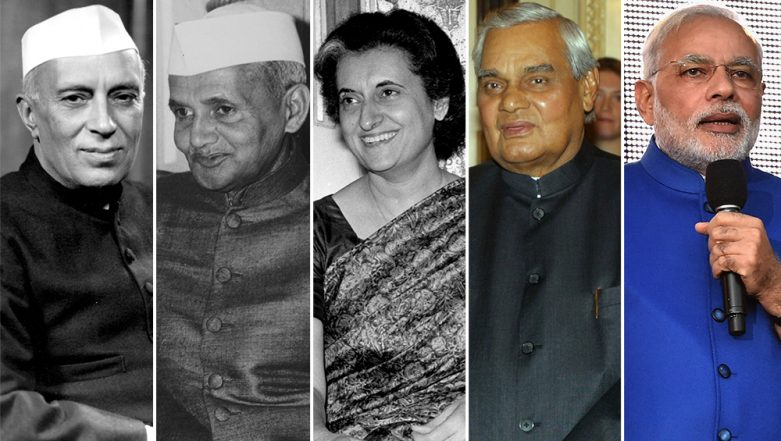 Independence Day 2019: From Jawaharlal Nehru to Narendra Modi, Five Remarkable August 15 Speeches by Prime Ministers of India Over The Years (Watch Videos)