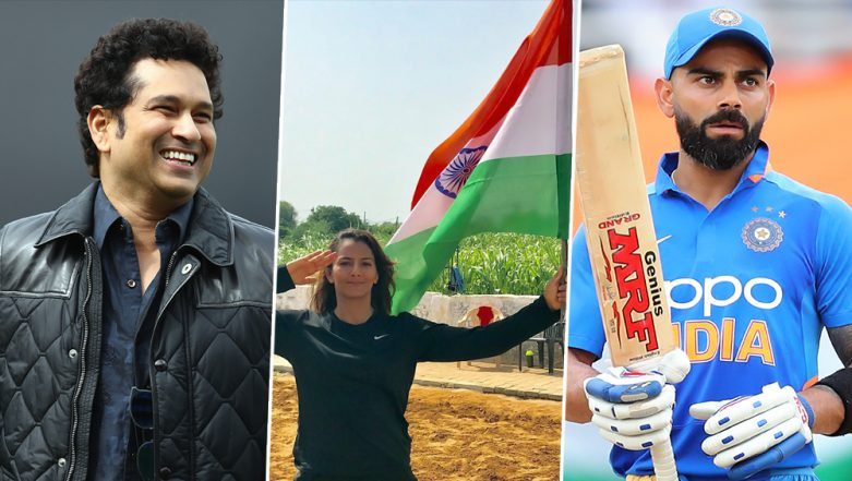 Sachin Tendulkar, Virat Kohli, Sania Mirza, Geeta Phogat & Other Sports Personalities Share Patriotic Independence Day 2019 Wishes and Messages (View Pics and Videos)