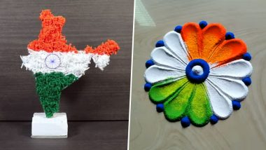 Independence Day 2019 Decoration Ideas For Schools: From Tri-Colour Balloons to Rangoli, Here's How Teachers and Students Can Decorate Classrooms on August 15