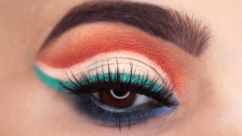 Independence Day 2019: Easy Tricolour Makeup Looks in the Colours of the Indian Flag for the Patriotic in You