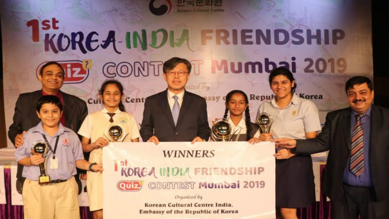 Mumbai's High School Girls Win India-Korea Friendship Quiz, Beat 8000 Students from 20 Other Public Schools