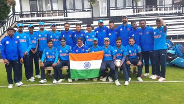 Indian Team Defeat England by 36 Runs in the Final of Physical Disability World Series 2019