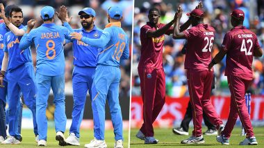 Live Cricket Streaming of India vs West Indies 2nd ODI 2019 Match on DD Sports and SonyLiv: Check Live Cricket Score, Watch Free Telecast of IND vs WI on TV and Online