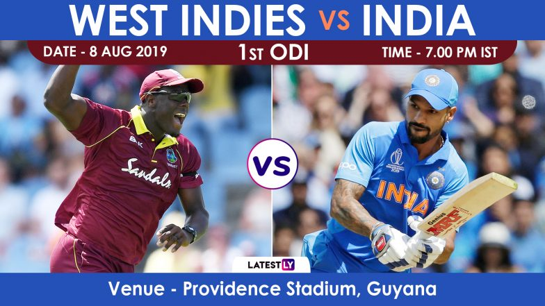 India vs West Indies 1st ODI 2019 Match Preview: After T20I Triumph, India Look to Dominate in ODIs