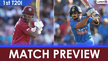 India vs West Indies 1st T20I 2019 Match Preview, Likely Playing XI: Teams Eye Fresh Start Post World Cup