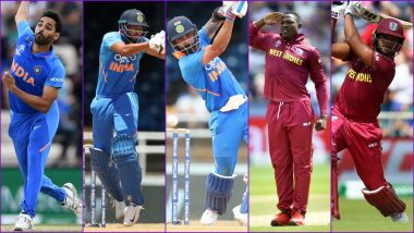 India vs West Indies 3rd ODI 2019, Key Players: Virat Kohli, Bhuvneshwar Kumar, Sheldon Cottrell & Other Cricketers to Watch Out for in IND vs WI Match