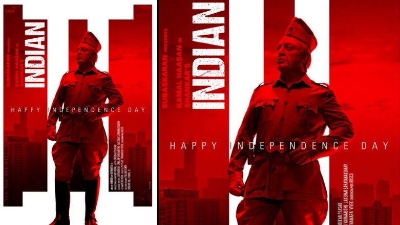 Indian 2: Kamal Haasan's Senapathy Stands Tall in this New Poster and Fans Couldn't Have Asked for a Better Independence Day Treat - View Pic