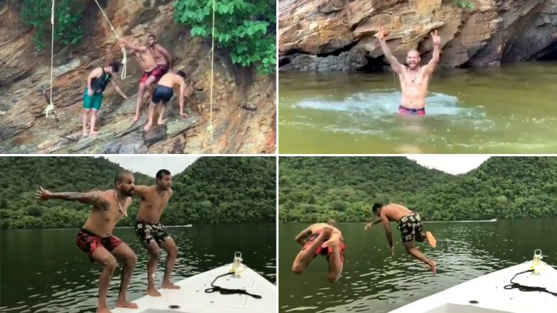 Shikhar Dhawan, Mayank Agarwal, Rishabh Pant Among Others Chill by the River in Trinidad Ahead of 3rd ODI Against West Indies (Watch Video)