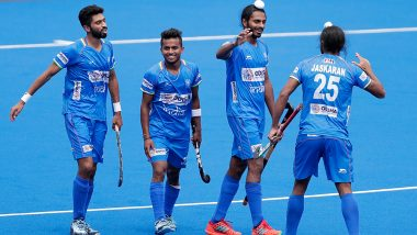 Indian Men's Hockey Team Defeat Germany 6-1 After Resuming International Action