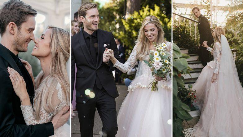 PewDiePie Marries Marzia Bisognin, Wedding Photos OUT: YouTuber Breaks The News on Instagram