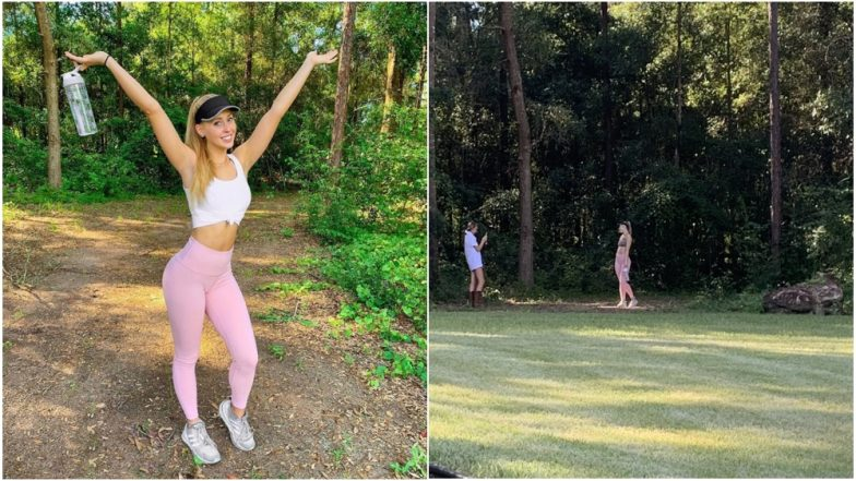 Instagram Influencer Exposed by Sister, Reveals Her 'Hike' Photos Were Taken in the Backyard (Tweet Goes Viral)