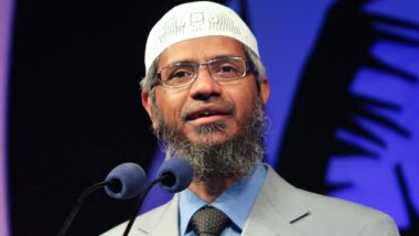 Zakir Naik Banned from Delivering Public Speeches in Malaysia Post 'Racist Remarks' Against Hindus, Permanent Resident Status at Stake Too