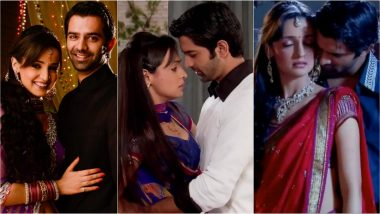 Iss Pyaar Ko Kya Naam Doon? Romantic Scenes of Arnav and Khushi: Relive Barun Sobti and Sanaya Irani's Hit Daily Soap Moments Through Photos and Videos