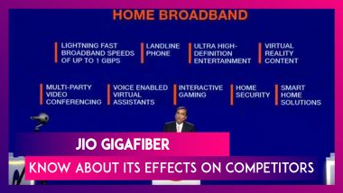 Giga Fiber Offer By Jio – Latest News Information updated on