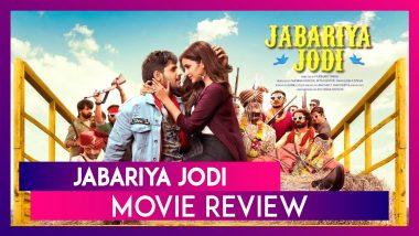 Jabariya Jodi Movie Review: Sidharth Malhotra, Parineeti Chopra's Romcom Entertains in Parts