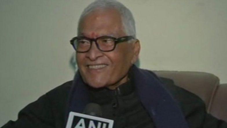 Jagannath Mishra, Former Bihar Chief Minister, Dies in Delhi After Prolonged Illness
