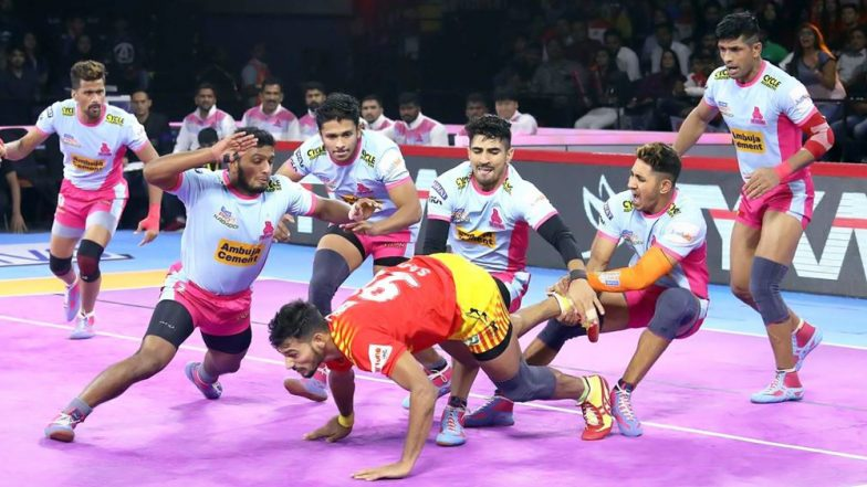PKL 2019 Dream11 Prediction For Jaipur Pink Panthers vs Bengaluru Bulls Match: Tips on Best Picks For Raiders, Defenders and All-Rounders For JAI vs BEN Clash