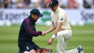 James Anderson Injury Update: England Pacer Ruled Out of Second Ashes 2019 Test, Doubtful For Rest of The Series