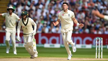 Ashes 2019: James Anderson Gives England Early Injury Scare After Limping off for a Suspected Torn Right Calf