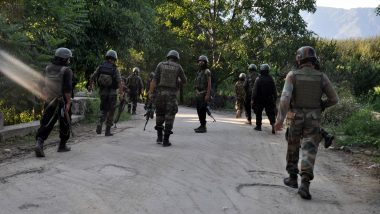 Jammu And Kashmir: Terrorist Neutralised by Security Forces in Encounter in Shopian's Hadipora