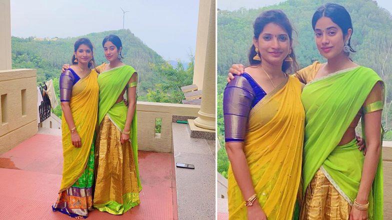 Janhvi Kapoor Looks Beautiful as She Visits Balaji Temple on Mom Sridevi's 56th Birth Anniversary (View Pic)