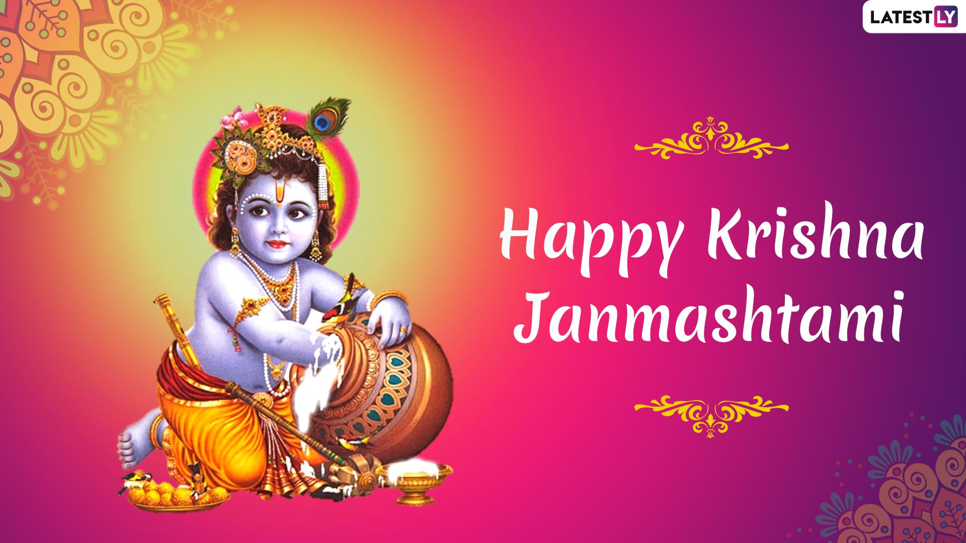 Janmashtami Images & Lord Krishna HD Wallpapers for Free