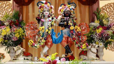 Krishna Janmashtami 2019 Flower Decorations Ideas: Ways to Deck Up Your Home With Flowers on Gokulashtami