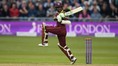 India vs West Indies 2019 T20I Series: Jason Mohammed Replaces Injured Andre Russell in Windies Squad for First Two Matches